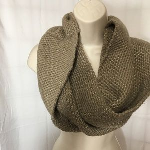 #353. —J.Crew taupe color infinity scarf.